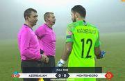 Азербайджан – Черногория – 0:0. Удаление Ивановича. Видеообзор матча