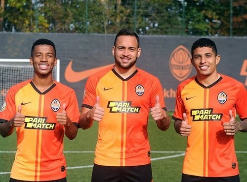 Четыре игрока Шахтера сыграли за олимпийскую сборную Бразилии