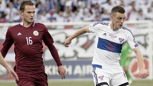 Латвия – Фарерские острова – 1:1. Неожиданный лидер. Видеообзор матча