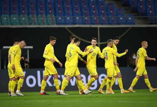 Яремчук и Зубков – лучшие у Украины в игре с немцами по версии WhoScored