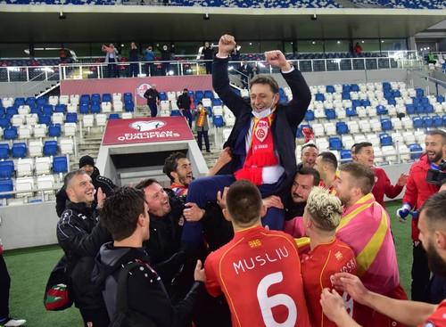 Лига наций В и С. Победы Словакии и Северной Македонии
