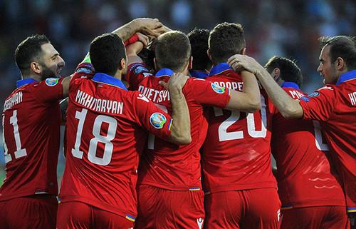 Грузия – Армения – 1:2. Видео голов и обзор матча