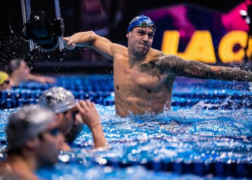 Выплыл из 50 с. Дрессел побил мировой рекорд на 100-метровке комплексом