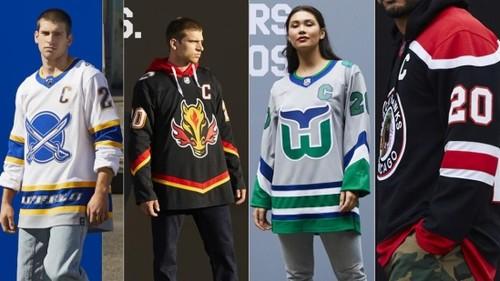 ФОТО. Красивые, стильные и странные. НХЛ презентовала новую форму