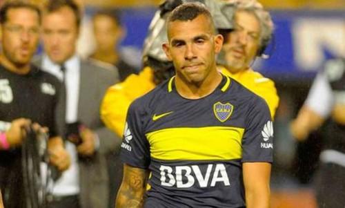 ВИДЕО. Карлос Тевес получил желтую карточку на третьей секунде матча