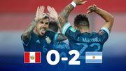 Перу – Аргентина – 0:2. Видео голов и обзор матча