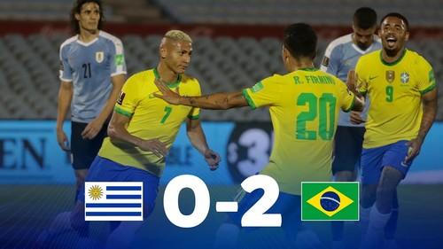 Уругвай – Бразилия – 0:2. Видео голов и обзор матча