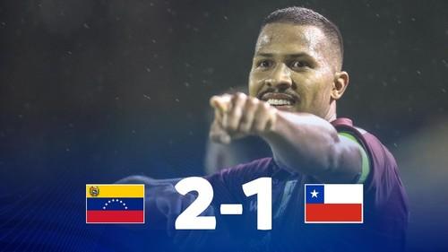 Венесуэла – Чили – 2:1. Видео голов и обзор матча