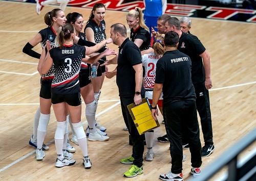 СК Прометей укрепил свое лидерство в женской Суперлиге