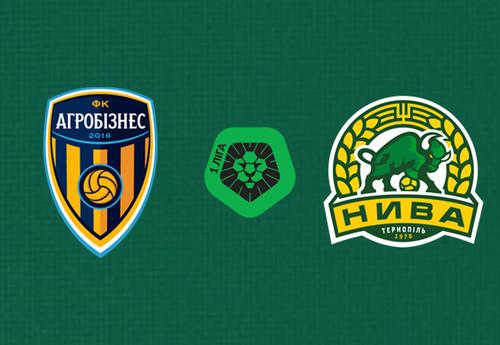 Агробизнес – Нива Тернополь. Смотреть онлайн. LIVE трансляция