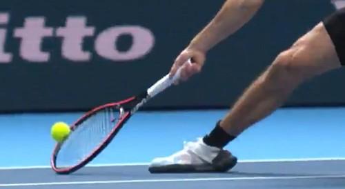 ВИДЕО. Исторический момент. В теннисе впервые применили технологию ВАР