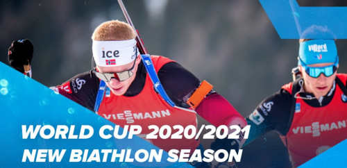 Біатлонний сезон-2020/21: розклад, анонси, трансляції, результати