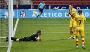 Атлетико - Барселона - 1:0. Видео гола и обзор матча