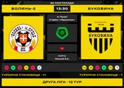 Волынь-2 – Буковина. Смотреть онлайн. LIVE трансляция