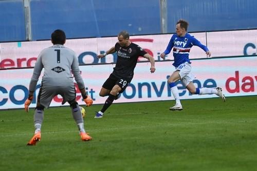 Сампдория — Болонья — 1:2. Видео голов и обзор матча