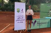 Катерина Лазаренко выиграла дебютный юниорский титул ITF