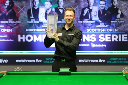 Трамп третий раз подряд выиграл Northern Ireland Open