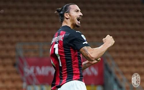 Златан Ибрагимович установил новый рекорд в истории Милана