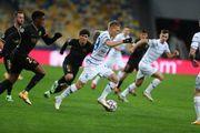 Буяльский дебютировал в еврокубках в качестве капитана Динамо