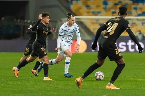 Динамо потерпело самое крупное домашнее поражение в Лиге чемпионов