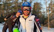 Горные лыжи. Третья подряд победа Влховой