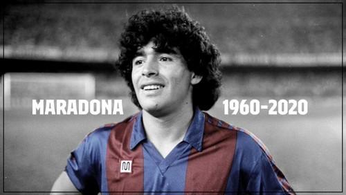ВИДЕО. Как Марадона играл за Барселону