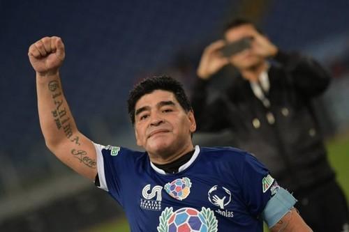 Диего Марадона. Не отрекаются любя