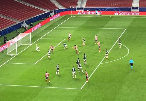 Атлетико – Локомотив – 0:0. VAR не засчитал гол Коке. Видеообзор матча