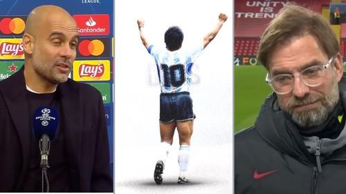 ВИДЕО. Реакция тренеров и футболистов на новость о смерти Марадоны