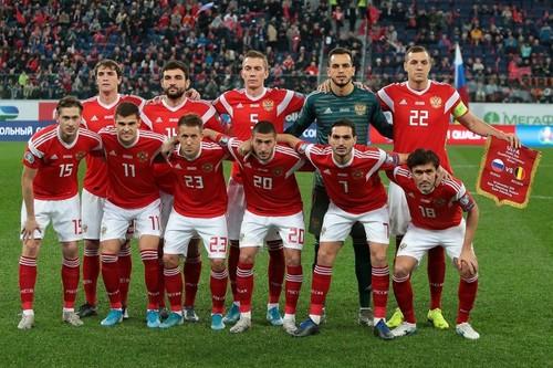 У Росії зі складу вкрали форму збірної з футболу на суму в 3,5 млн рублів