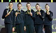 Итоги третьего дня ЧЕ по художественной гимнастике. Четыре медали украинок