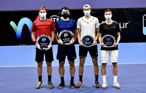 Вадим Урсу стал чемпионом турнира ITF в Братиславе в парном разряде