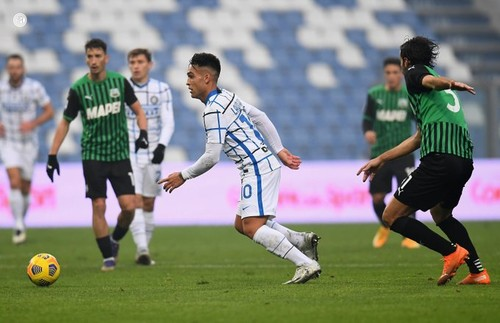 Сассуоло - Интер - 0:3. Видео голов и обзор матча