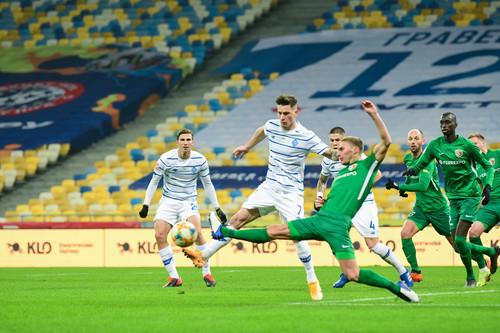 Забарний став наймолодшим гравцем Динамо, вилученим з поля