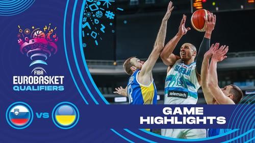 Словенія – Україна – 84:73. Відеоогляд матчу