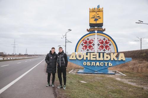Игроки Шахтера побывали в городах на линии разграничения в Донецкой области