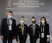 Україна стала центром художньої гімнастики Європи