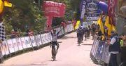 ВИДЕО. Велогонщик упал прямо на линии финиша победной гонки