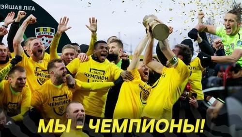 Шахтер Вернидуба-Григорчука выиграл чемпионат Беларуси с антирекордом