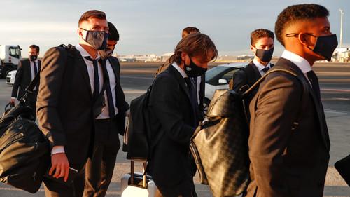 ВИДЕО. Как Реал прилетел в Киев на игру с Шахтером