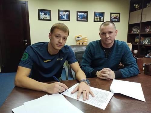 Металл подписал украинца, ранее принадлежавшего Депортиво