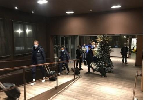 Динамо прибыло в Турин на матч с Ювентусом