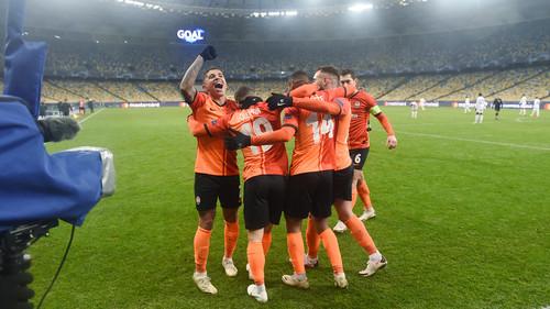 Украинские клубы провели 400-й матч в Лиге (Кубке) чемпионов