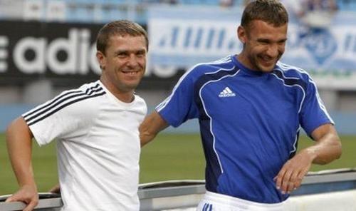 Сергей РЕБРОВ: «Иногда ругались с Шевченко на поле»