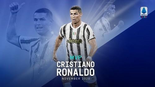 Роналду – Игрок месяца в Серии А