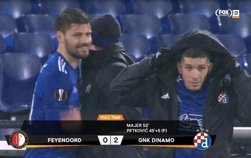 Фейеноорд – Динамо Загреб – 0:2. Видео голов и обзор матча