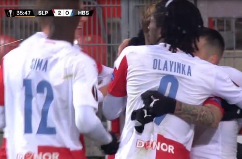 Славия Прага – Хапоэль Беэр-Шева – 3:0. Видео голов и обзор матча