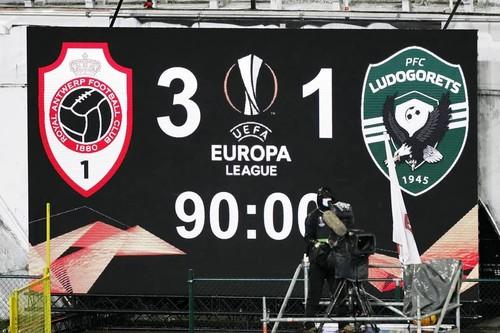 Антверпен – Лудогорец – 3:1. Видео голов и обзор матча