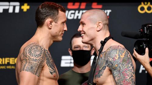 Где смотреть онлайн UFC: Джек Херманссон – Марвин Веттори