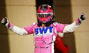 Серхио ПЕРЕС: «Я сплю? 10 лет шел к победе в Формуле-1»